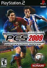 Pro Evolution Soccer 09, (PS2)