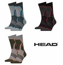 2 Pack Head Unisex Hiking Crew Sock