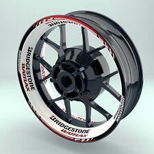 """Adesivo cerchio Moto Adesivi cerchio ruota Premium """"Bridgestone Battlax 1"""""""