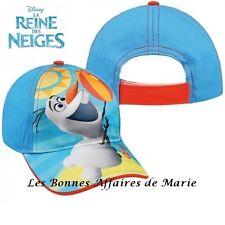 DISNEY - Reine des Neiges - Casquette Olaf bleue - Neuve avec étiquette