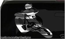 Bike Racing Sticker Racing Bike S2 all chrome and regular vinyl colors