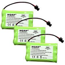 3-Pack Battery for Uniden DCT746M DCT748 TRU9485-3 TRU9488 Cordless Telephone