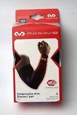MCDAVID 6566 Compression Arm Sleeve / pair  Size S M L Black