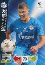 DENISOV # RUSSIA FC.ZENIT CHAMPIONS LEAGUE TRADING CARDS 2013
