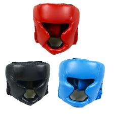 BA_ MMA BOXING PRETECTION GEAR HEADGEAR HEAD GUARD TRAINNING HELMET KICK SALABIL