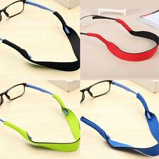 2 Silikon Glasses Strap Neck Cord Brillen Band Sonnenbrille Sport Seil Schnur 4H