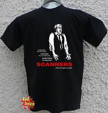 Scanners Cronenberg 80s classique de l'horreur Sci Fi rétro T Shirt Toutes Tailles