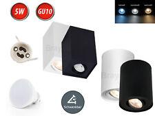 LED Aufbauleuchte Deckenstrahler Ø80mm Deckenleuchte Deckenspot GU10 5W 230V