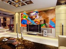 3D Sleeping Puppy Beach 235 Wall Paper Wall Print Decal Wall AJ WALLPAPER CA