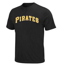 Pittsburgh Pirates 2 pulsante Licenza Ufficiale MLB T-shirt