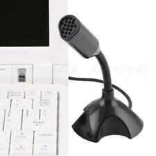 USB Studio Speech Mic With Holder Microphone Fr Universal Computer Laptop Gaming