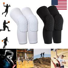 Honeycomb Knee Pad Crashproof Antislip Basketball Leg Long Sleeve Protector Gear