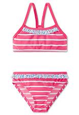 SCHIESSER AQUA LF40+ Mädchen Bustier-Bikini Set 104 116 128 140 Schwimmanzug