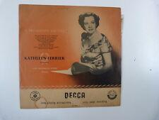 LP Kathleen Ferrier a broadcast recital DECCA LX 3133