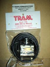 New MOTOROLA Mirror Mount NMO Steel Bracket 4 Antenna - 17' Cable MINI U SAVE $$