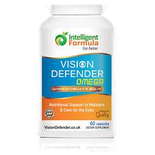 VISION DEFENDER OMEGA: Dry Eye/Macular/Eye Care Omega-3 Pure Fish Oil softgels