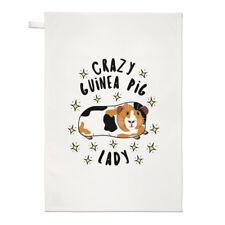 PAZZO Guinea Pig Signora STELLE Strofinaccio piatto PANNO - divertente animale