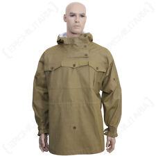REVERSIBLE TAN CANVAS MOUNTAIN ANORAK - Repro WW2 German Gebirgsjager Jacket