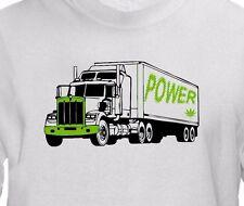 POWER Diesel Strain T shirt -Cannabis Weed Marijuana Leaf Vape Rig 420 Pot Shirt