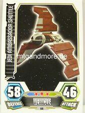 Jedi Ambassador Shuttle  #066 - Force Attax Serie 3