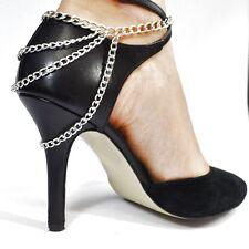 Fusskette Fuß Statement High Heels Schuh Fuss Kette Strass Fusskettchen SEXY 72