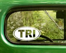"FULL IRONMAN 140.6 car decal 3.5/"" logo TRI sticker Triathlon choose 3 colors"