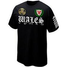 T-Shirt WALES CYMRU - PAYS DE GALLES - ROYAUME UNI - Maillot ★★★★★★