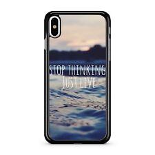 Smetti di pensare solo LIVE preventivo Ocean acqua paesaggio vista 2D TELEPHONO CASE COVER