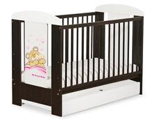 Babybett / Kinderbett Teddy Bär Barnaba + Schublade + Matratze / 6 Farben