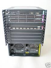 CISCO 6509 WS-C6509 WS-X6408A-GBIC 96x10/100  4 x Modul