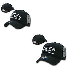 US USA Police SWAT Law Enforcement 2 Ply Cotton Raid Caps Hats Rapid Dom