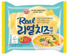 Korean Instant Food Ottogi Real Cheese Ramen Liquid Sauce Noodle