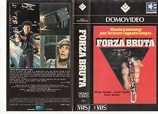 Forza bruta (1983) VHS