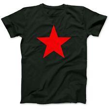 Red Star As Worn By T-Shirt 100% Premium Cotton Michael Stipe
