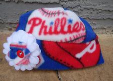 87d5f5285e6 Philadelphia Phillies Fleece Flower Hat - Newborn