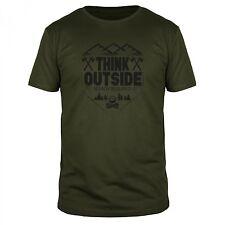 Think Outside No Box Abenteuer Survival Natur Bushcraft EDC Outdoor Wald Shirt