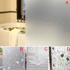 200 x 60CM Room Bathroom Home Window Door Privacy Bath Film Sticker PVC Frosted