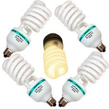 4x  METTLE Fotolampe, Kunstlicht-Lampe 85 W / E27 / 3200K, Pflanzenlampe