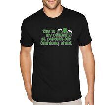 Mens My Official St. Patrick's Day Drinking Shamrock Irish Green Beer T-Shirt
