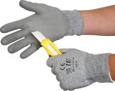 UCI Kutlass PU300 - Grey PU Palm Coated Cut Resistant Gloves 4343 Level 3