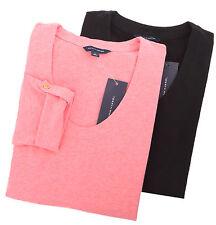 Tommy Hilfiger Women's Long Sleeve Wide-Neck Tee T-Shirt - Free Ship