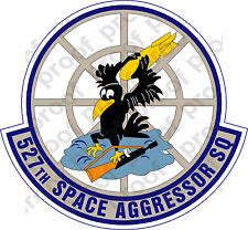 STICKER USAF 527TH SPACE AGGRESSOR SQUADRON