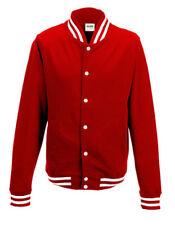 Just Hood College chaqueta jh041 sweatjacke Sweat rojo NFL nba mbl us Sport
