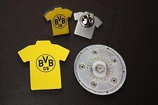 Meisterset Borussia Dortmund BVB 3 teilig. Meisterschale+Trikotmagnet+Trikotpin