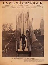 VIE AU GRAND AIR 1903 N 256  L'ACROBATE M. YAGS A PARIS