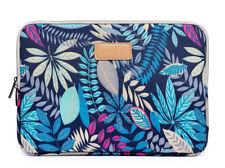 "Canvas 8""9""10""11""12""13""14""15""15.4"" Colorful Leaf Laptop Sleeve Bag PC Cover Case"