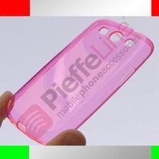 Custodia in silicone rosa trasparente invisibile SAMSUNG i9300 GALAXY S3 S 3