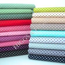 3mm Tiny Dot 100% Cotton Polka Dot Spot Dots Spots Dressmaking Quilting Crafts