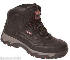 Tomcat Dakota TC340A S3 Black Waterproof Non-Metallic Hiker Safety Work Boots
