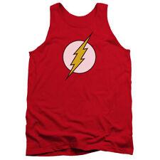 Dc Flash Logo Mens Tank Top Shirt